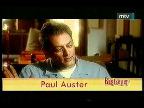 Portrait of Paul Auster - American writer - Bestseller with Balázs Lévai