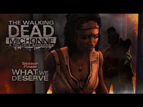 THE WALKING DEAD MICHONNE Full Game Finale  