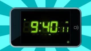 iPod App Review - Alarm Clock Pro