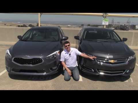 Chevrolet Impala vs Kia Cadenza Review and Road Test