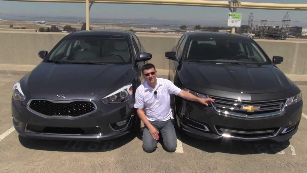 Chevrolet Impala vs Kia Cadenza Review and Road Test - YouTube