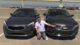 Chevrolet Impala vs Kia Cadenza Review and Road Test