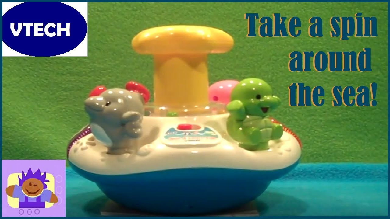 Spin and Learn Top | Infant Learning Toy - VTech America