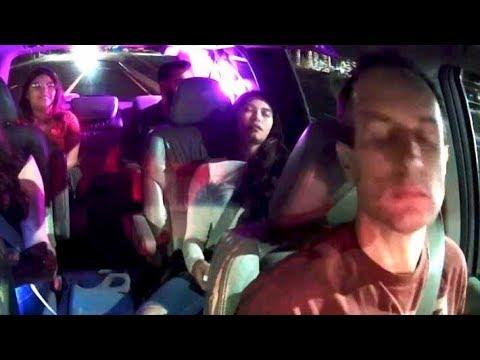 Man in a skirt Uber XL trips Too Far Away