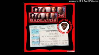 Badlands - Live at the Marquee December