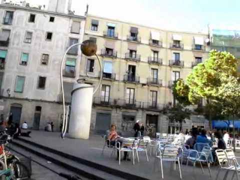 George Orwell Square Leandre Cristofol Monument Rentals Barcelona Apartments In Barcelona