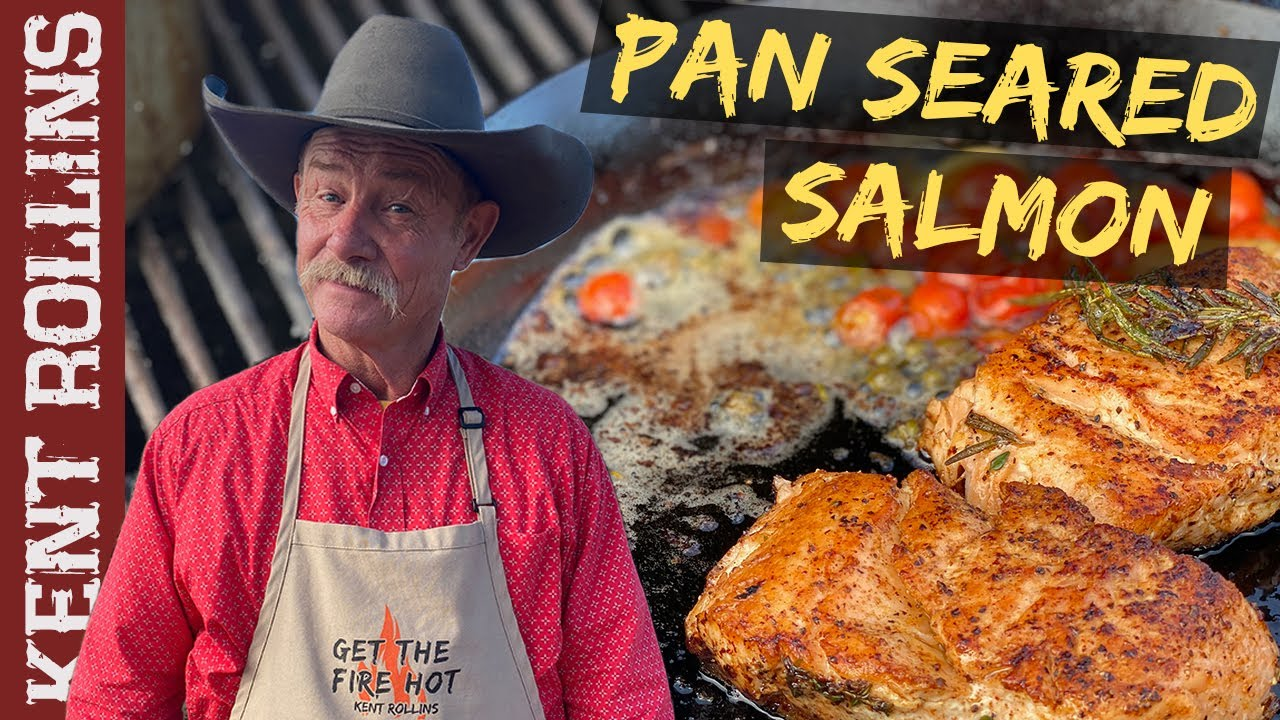 Crispy Pan Seared Salmon | How to Sear Salmon in a Cast Iron Skillet