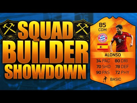FIFA 16 EPIC MOTM XABI ALONSO SQUAD BUILDER SHOWDOWN!!! FIFA 16 ULTIMATE TEAM