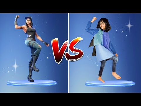 FORTNITE DANCE CHALLENGE with COSTUMES!! - (In Real Life)