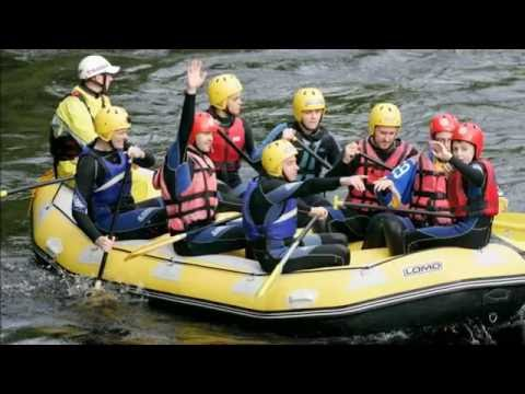 Floatin Fifers do rapids for Kidney Research UK