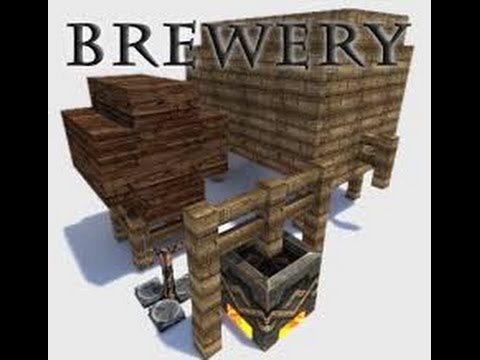 Minecraft: How to make a Liquor Barrel - YouTube Barrel Minecraft