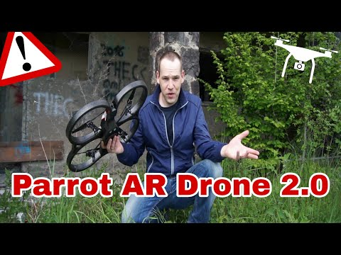 Parrot AR Drone 2.0 elite edition HD im Test Review HD Drohne Lostplace