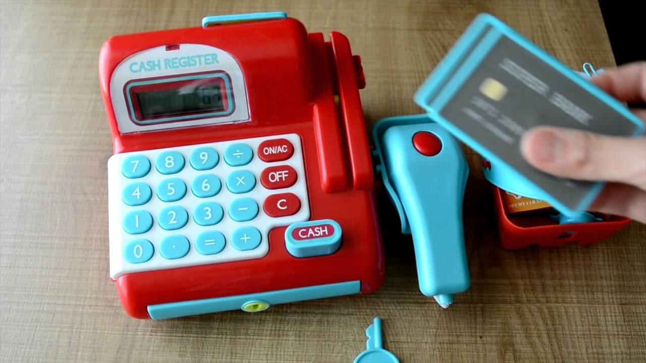 kmart cash register for kids - YouTube