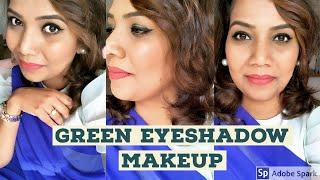 Green eyeshadow makeup II beauty bugs tv II