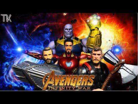 Avengers: Infinity War Stop Motion FINALE (Stop Motion Film Series)