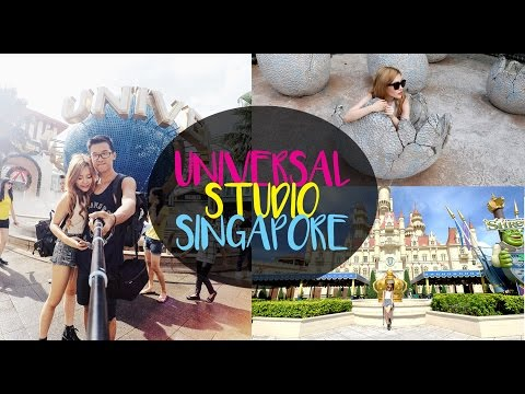 Singapore VLOG - Universal Studio Singapore at Resort World Sentosa