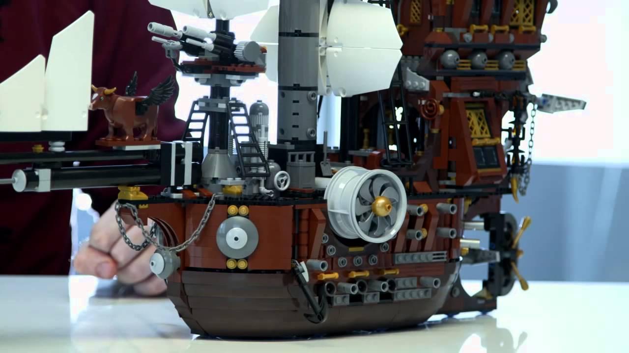 Metalbeard S Sea Cow The Lego Movie 70810 Designer Video Youtube