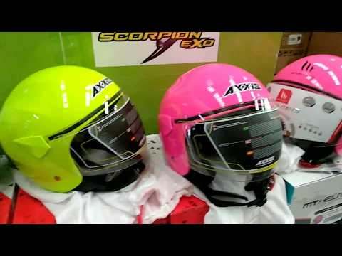 Casco Axxis SPORT CITY Solid el casco jet barato