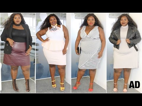 14816add9d6 PLUS SIZE FASHION LOOK BOOK WITH BOOHOO - YouTube