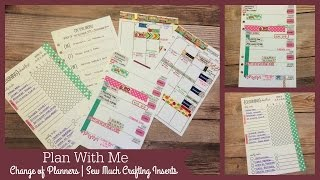 Plan With Me | Change Of Planners