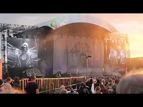 Queen and Adam Lambert - Isle of Wight Festival 2016 - Intro!