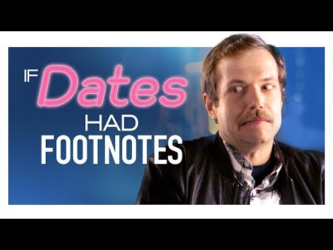 Dating With Footnotes: Online Date