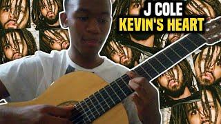 J. Cole - Kevins Heart Guitar Tutorial Lesson