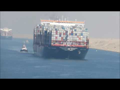 SUEZ CANAL - Full Passage from the Mediterranean to the Red Sea