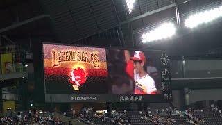 2014年8月21日、札幌ドームでの北海道日本ハムファイターズ公式戦・レジ...