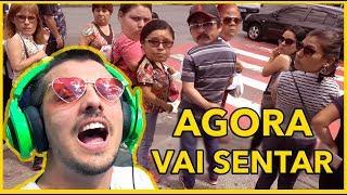 Baixar CANTANDO EM PÚBLICO AGORA VAI SENTAR, BATALHA feat. ÁREA SECRETA - CAIO RESPONDE #89