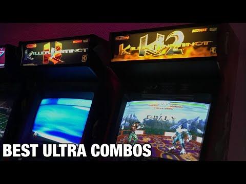 Killer Instinct Arcade | Best of Ultra Combos Compilation. Arcade1up Soon! from TwistedGamingTV