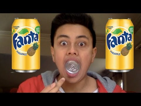 I ATE A SODA CAN MAGC TRICK !!