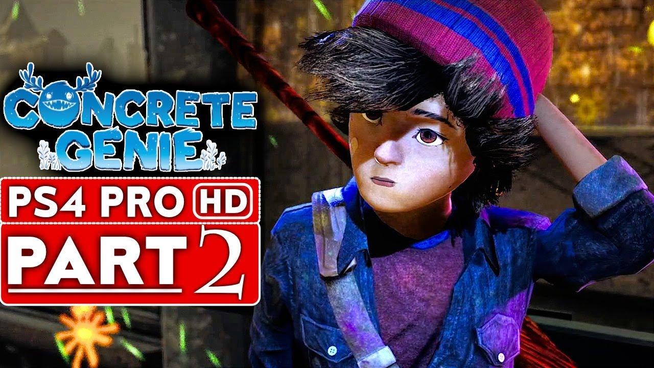 CONCRETE GENIE - soluce - Partie 2 [HD 1080p HD PS4 PRO] - Aucun commentaire + vidéo