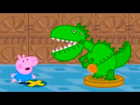 Свинка Пеппа  - День рождения Джорджа! Мультики для детей Мультфильм Peppa Pig HD