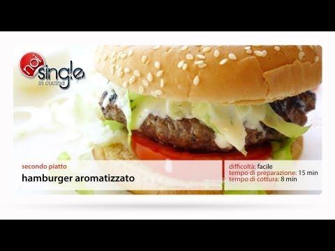 Hamburger aromatizzato