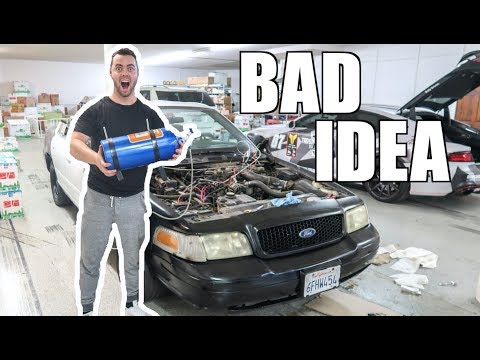 WE PUT A $700 NITROUS KIT ON A $700 CAR!!!