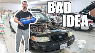 WE PUT A $700 NITROUS KIT ON A $700 CAR!!! thumbnail