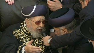Tributes paid to Rabbi Ovadia Yosef, founder of Israel
