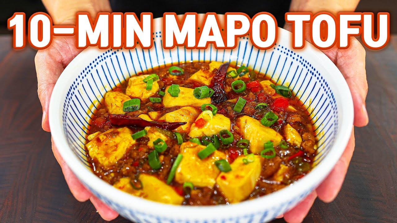 10 Minute Authentic Mapo Tofu Recipe l Better Than Restaurants