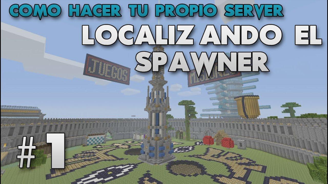 #1 LOCALIZAR SPAWN - Como crear un server en Minecraft de ...