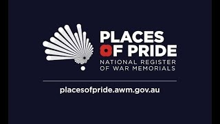 Places of Pride, the National Register of War Memorials