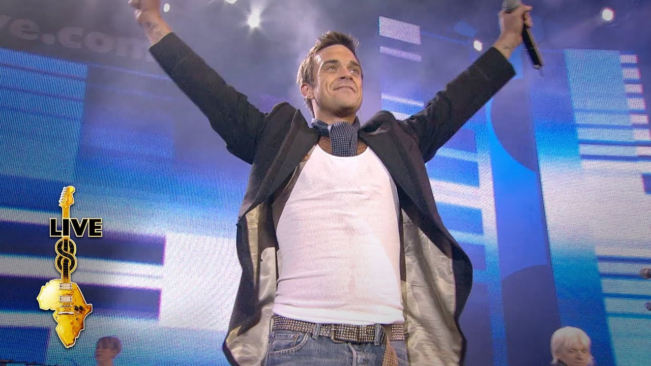 Robbie Williams - Angels (Live 8 2005)