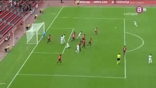 Gol Juanma Delgado. RCD Mallorca 1 - UCAM Murcia 2. Copa del Rey 16/17