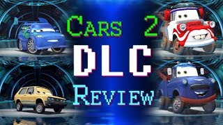 Cars 2 The Video Game Undercover Agent Character Bundle For Ps3