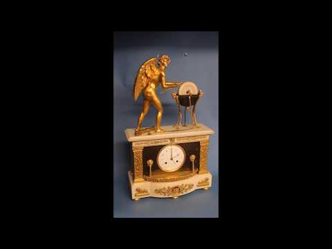 c.1800 French Automated Mantel Clock