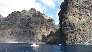 Boat Trip Puerto Colon Los Gigantes Tenerife December 2014