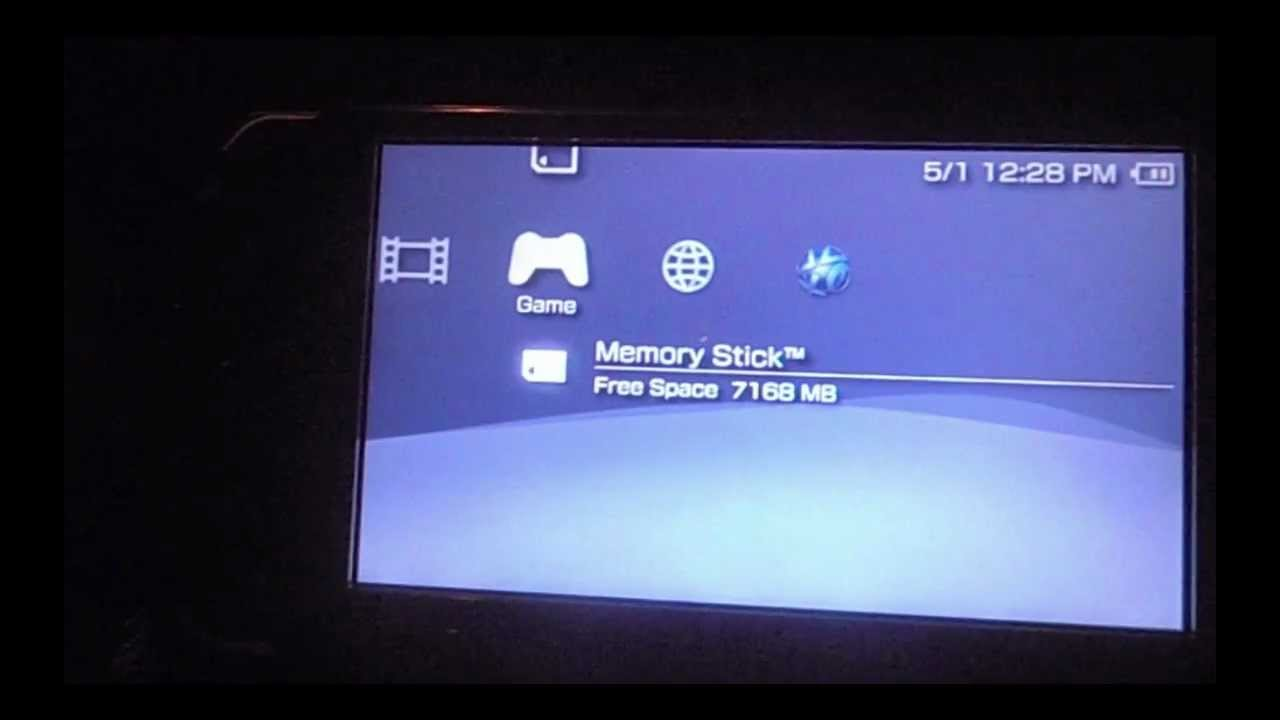 downgrade psp 6.20