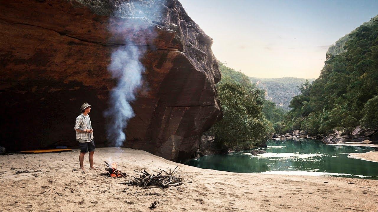 Solo Wild Camp in Remote Australian Wilderness