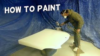 HOW TO PAINT HOOD. CAR PAINTING