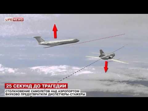 Два самолета едва не столкнулись в небе над Москвой